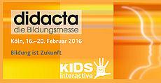 KIDS interactive auf der DIDACTA 2016